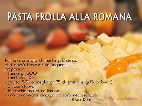 ada boni la cucina romana la crostata con le visciole