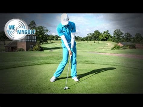 golf swing hitting down on the ball should you hit down on the golf ball youtube