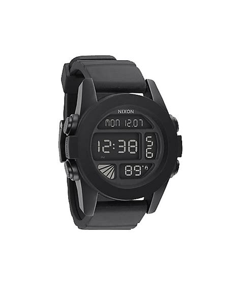 Nixon Unit Digital nixon the unit black digital