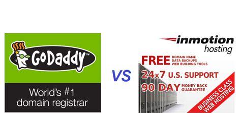 biz157inmotionhostingcom godaddy vs inmotion hosting may 2017 quot what s the real