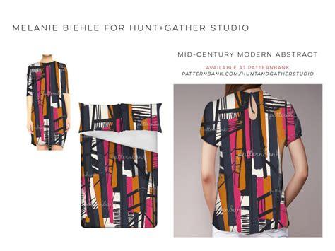 reviews on patternbank pattern designs melanie biehle for hunt gather studio at