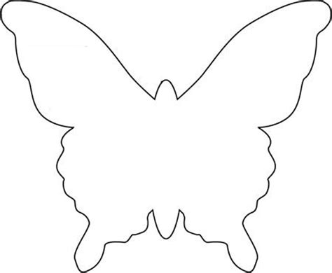 butterfly template templates pinterest butterfly