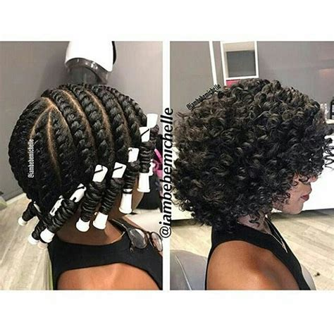 Hairstyles For Hair Twist Out With Perm by 12 Bomb Perm Rod Set Hairstyle Pictorials And Photos