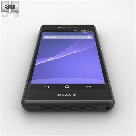 Sony Xperia A2 With sony xperia a2 so 04f black 3d model hum3d