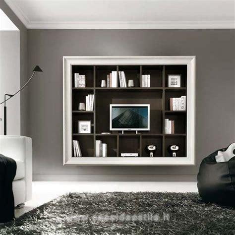 cornici per tv a parete parete 14 vani cornice liscia porta tv mobili casa idea