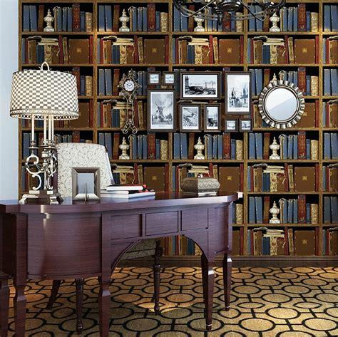 haokhome vintage retro vinyl bookshelf design embossed