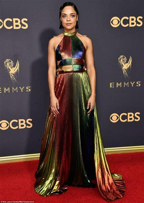 Dress Emmy emmy awards 2017 s worst dressed revealed daily mail