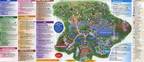 printable map of animal kingdom orlando theme park brochures disney s animal kingdom theme park