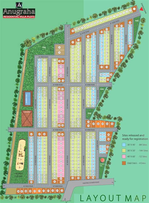vishweshwaraiah layout land plot for sale 1200 sq ft plot for sale in anugraha land developers