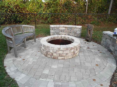 outside firepit outdoor bring the pit insert to the patio outdoor