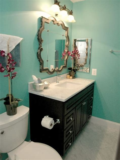 teal badezimmer turquoise bathroom houzz