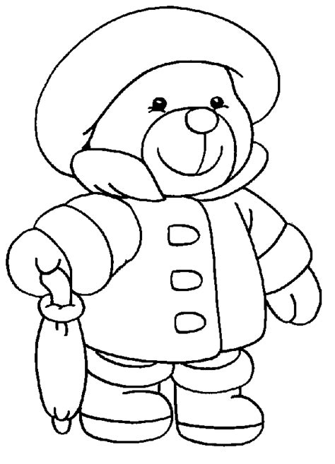 teddy bear coloring pages for toddlers plate of cookies drawing clipart panda free clipart images