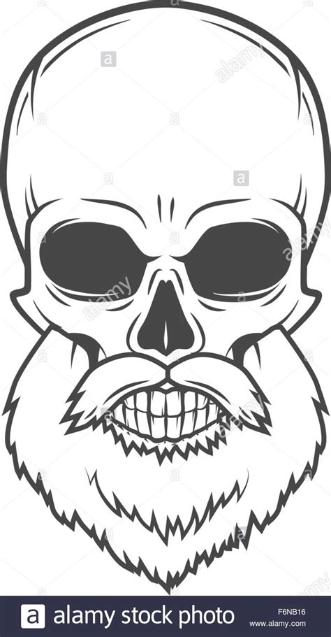 design t shirt rock vector evil bearded jolly roger logo template old biker t shirt