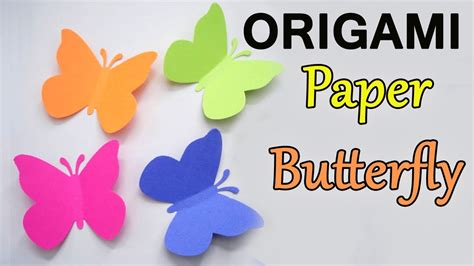 How To Make Butterflies Out Of Paper - how to make origami paper butterfly