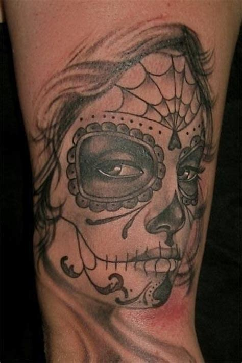 tattoo girl of the day sad lovely day of the dead girl tattoo tattoos book 65