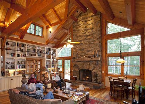 Texas Farmhouse Plans mountain retreat timber frame residential project photo