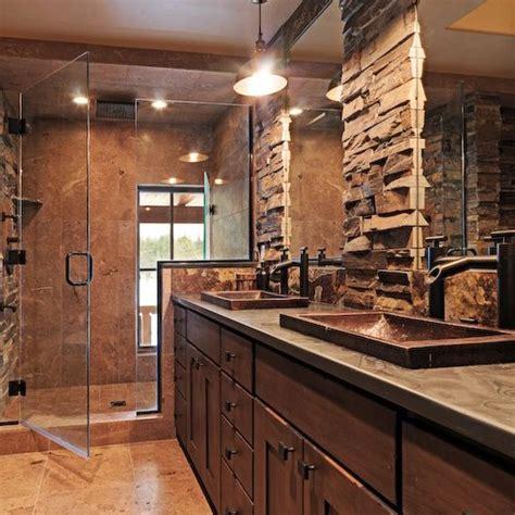 rustic contemporary bathroom rustic modern master bathroom interior design