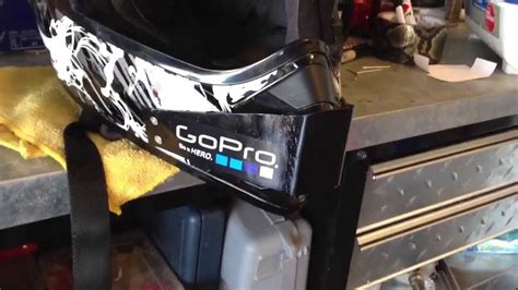 gopro motocross helmet mount gopro dirtbike helmet mount idea from zachatk1 thanks