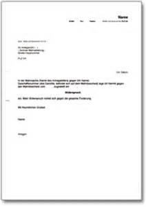 Musterbrief Einspruch Rechnung Widerspruch Gegen Einen Mahnbescheid Gesamtforderung De Musterbrief