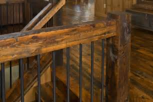 Gate For Stairs With Banister Wood Stair Treads Risers Railings Enterprise Wood Products