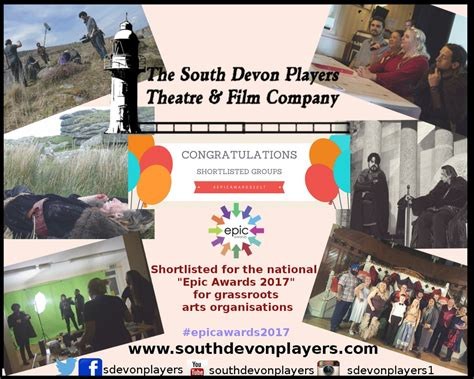 epic film company the south devon players theatre film company news