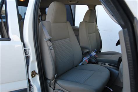 jeep liberty seat covers 2002 jeep liberty sport 2002 2010 leather like custom seat