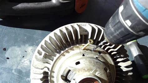 ford supderduty fan clutch   lock  manually