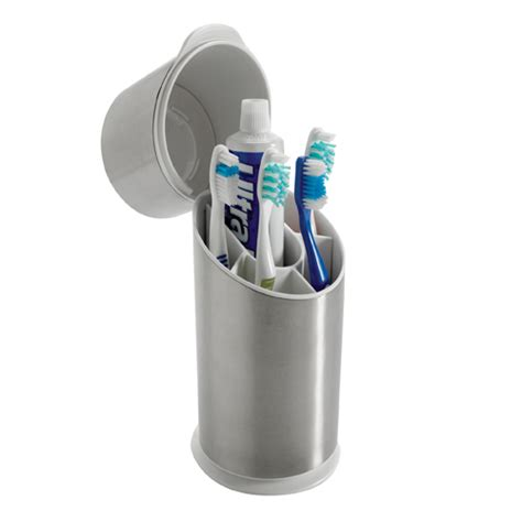bathroom toothbrush storage oxo stainless steel toothbrush holder in toothbrush holders
