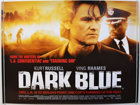 film blue original dark blue original cinema movie poster from pastposters