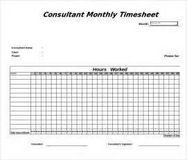 timesheet xls template 12 consultant timesheet templates free sle exle