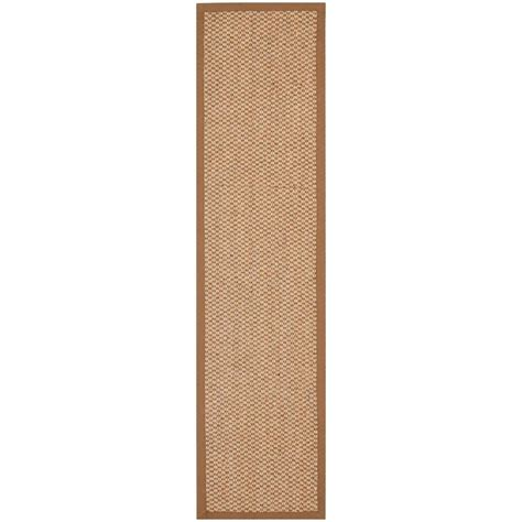 8 foot runner rug safavieh fiber beige 2 ft x 8 ft runner rug nf525b 28 the home depot