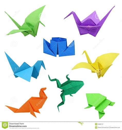 Origami Images - origami images stock image image of steamer folded