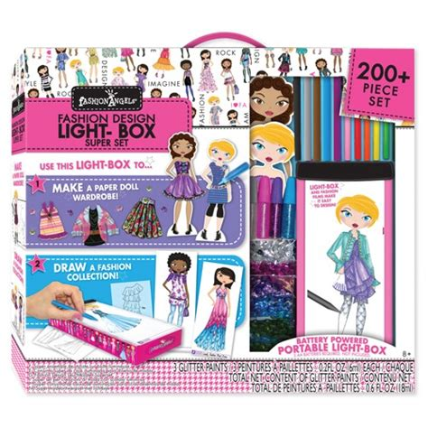 Arts And Crafts Books For Kids - fashion design light box travel super set for girls educational toys planet