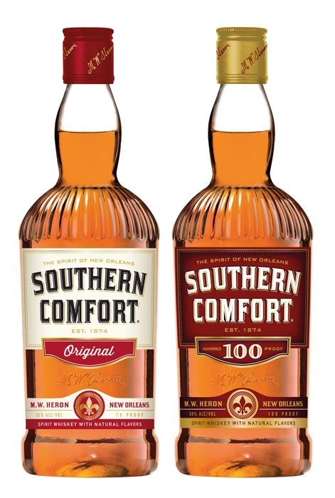 What Is Southern Comfort Made From by New Branding Takes Southern Comfort Back To Its Roots