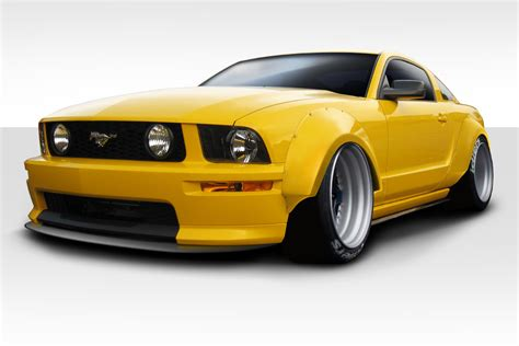 extreme dimensions item group   ford mustang duraflex circuit wide body