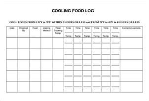 Food Waste Log Template by Food Log Template 29 Free Word Excel Pdf Documents