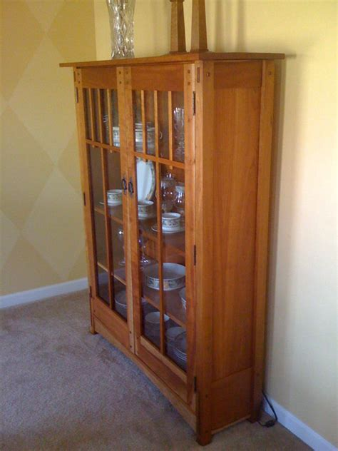 mission china cabinet plans plans diy   build