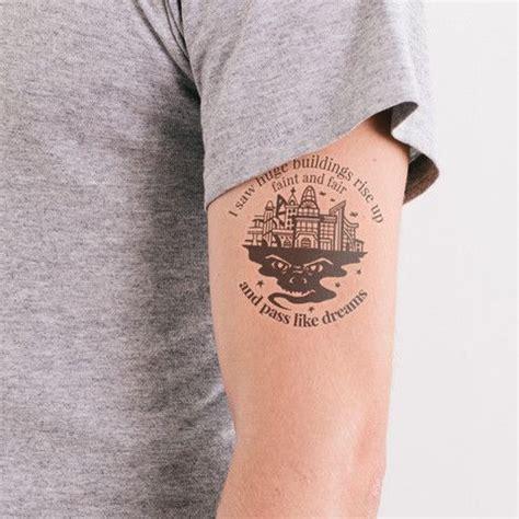 Tattoo Machine Book | the time machine h g wells temporary literary tattoos