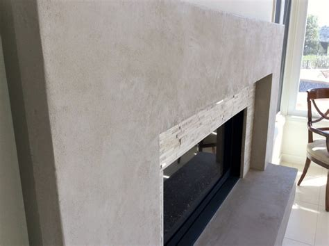 Plaster Fireplace Surround by American Clay Plaster Fireplace Surround