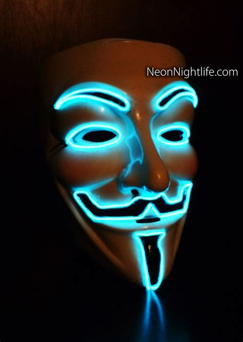 Masker Glowing 17 best images about anonymous fawks mask on glow antique gold and rainbow dash