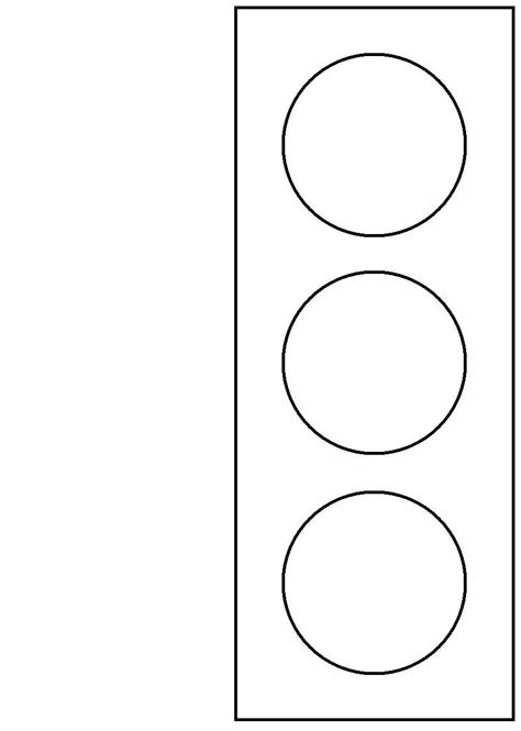 Stoplight Coloring Page teacherpage safety webquest