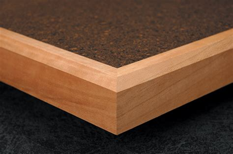 Wood Countertop Edge by Wood Edges Kuehn Bevel
