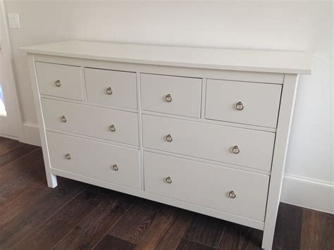 ikea hack hemnes dresser ikea hemnes dresser with gold ring pulls bedroom keira