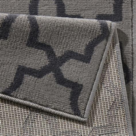 flur teppich grau design velours teppichl 228 ufer br 252 cke teppich diele flur