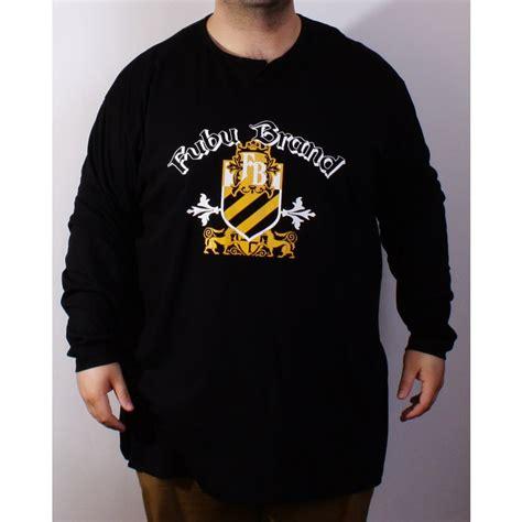 fubu brand black l s t shirt