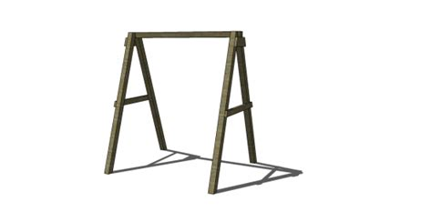 swing frame design free diy furniture plans how to build a swing a frame