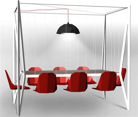 laras comedor colgantes mesa comedor con columpios en vez de sillas