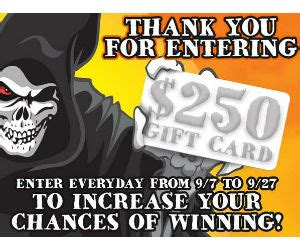 Spirit Halloween Gift Card - win a 100 spirit halloween gift card haunted party prize pack free sweepstakes