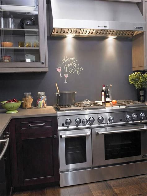 kitchen feature wall paint ideas interior chalkboard designs renovator mate