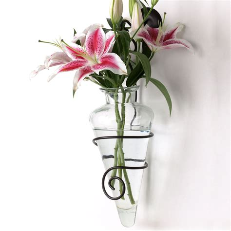 Wall Mounted Vase Holder by Sconces Vases Home Decoration Ideas Wall Vase Sconce The